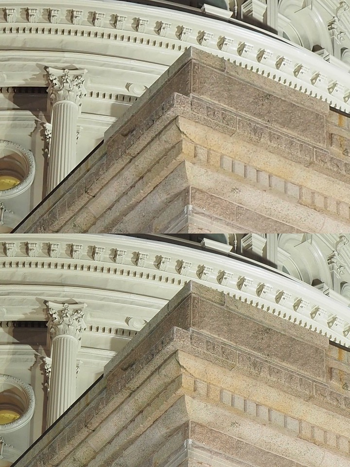Exterior Resolution Comparison