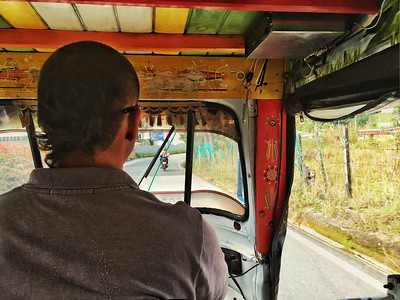 Tuk Tuk ride to Piedra del Peñol