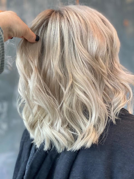 Platinum Blood with Shadow Root