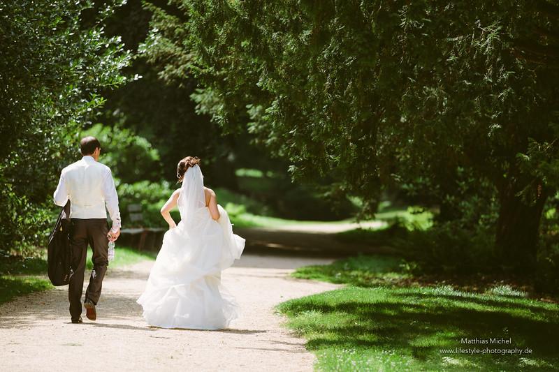 Heiraten im Schloss Dyck - Hochzeit - Brautpaar - Heiraten im Schloss Dyck - Hochzeit - Brautpaar -