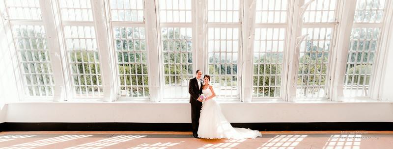 Heiraten im Schloss Dyck - Hochzeit - Brautpaar - Eine Sommerhochzeit im Schloss Dyck.