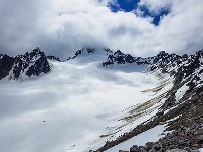 Julep Glacier and Montana Peak