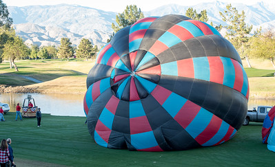 Hot Air Balloon Race Cathedral City CA 2016-0944