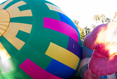 Hot Air Balloon Race Cathedral City CA 2016-0919