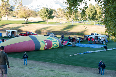 Hot Air Balloon Race Cathedral City CA 2016-0909