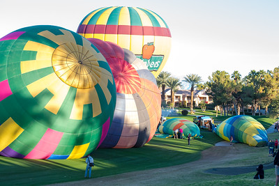 Hot Air Balloon Race Cathedral City CA 2016-0938