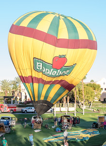 Hot Air Balloon Race Cathedral City CA 2016-0929