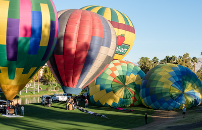 Hot Air Balloon Race Cathedral City CA 2016-0964