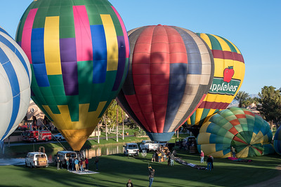 Hot Air Balloon Race Cathedral City CA 2016-0955