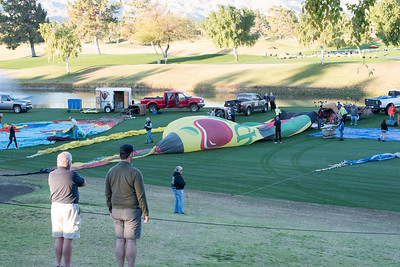 Hot Air Balloon Race Cathedral City CA 2016-0908