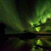 Myvatn Troll watching the Aurora
