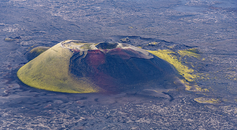 Colourful Crater