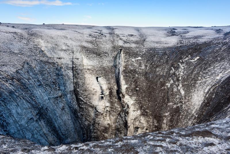 Hole in the Glacier