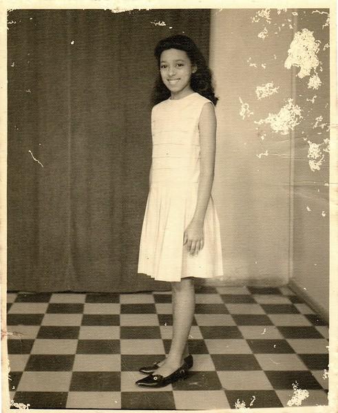 My mother, Noemi.