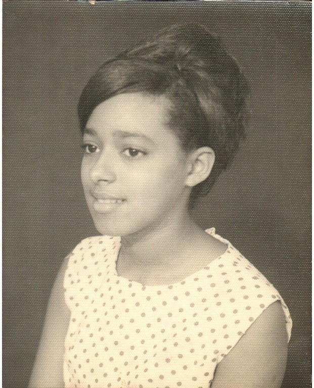 My mother in the sixties.