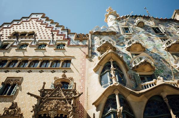 Gaudi House, Barcelona, Spain, June 2017.