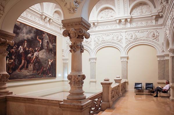 Museo de Zaragoza in Spain, June 2017.