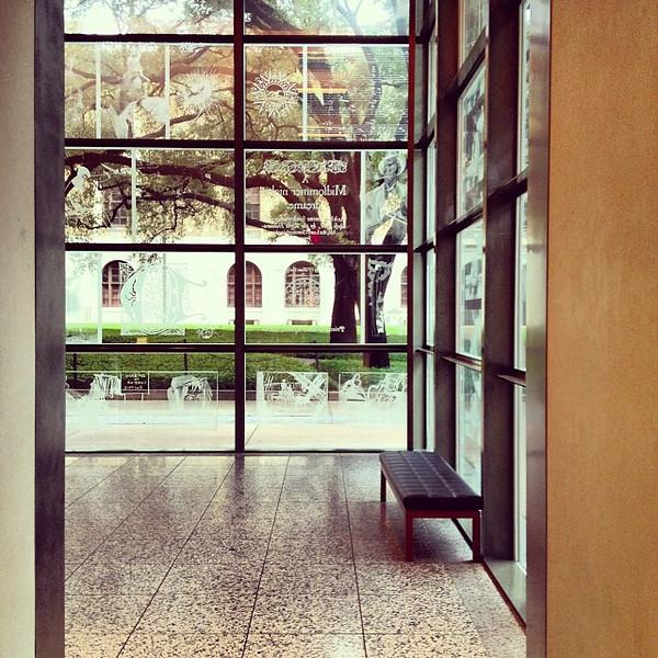 Interior, Harry Ransom Center