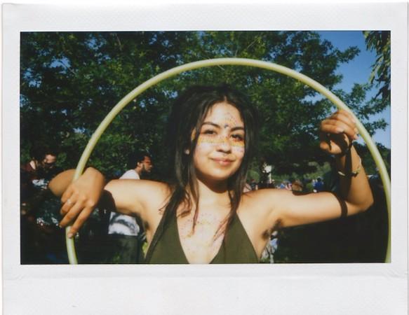 Jordan at Eeyores with Instax - Austin, Texas
