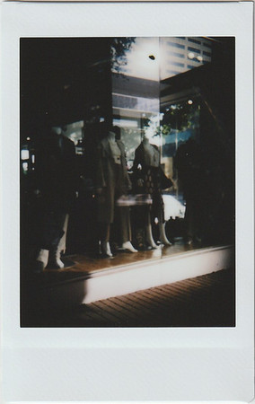 Instax Window Shopping