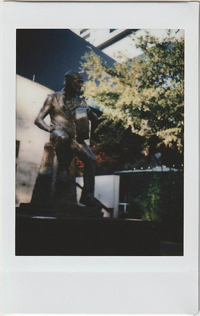 Instax Willie Statue
