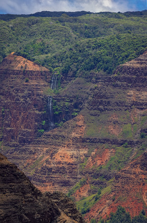 Waimea Canyon and Waipo'o Falls