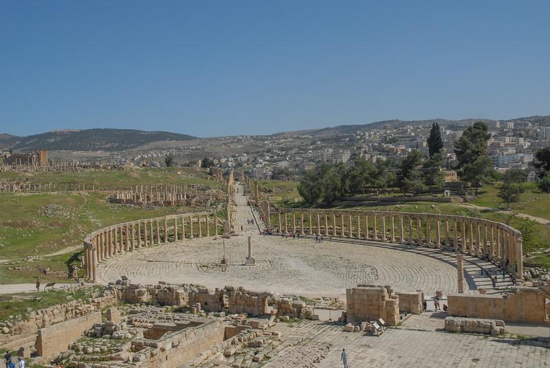 Jerash oval-forum