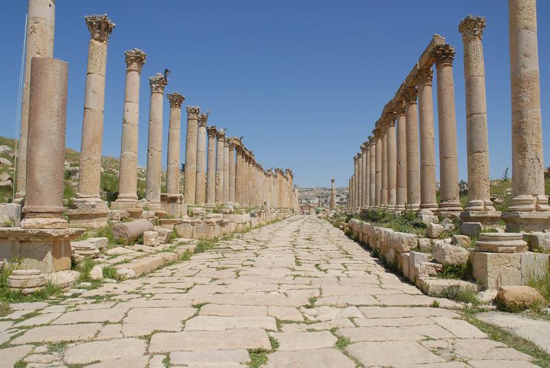 Jerash main street