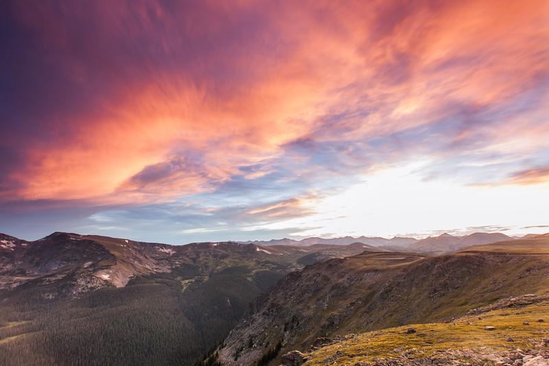 Trail Ridge Twilight