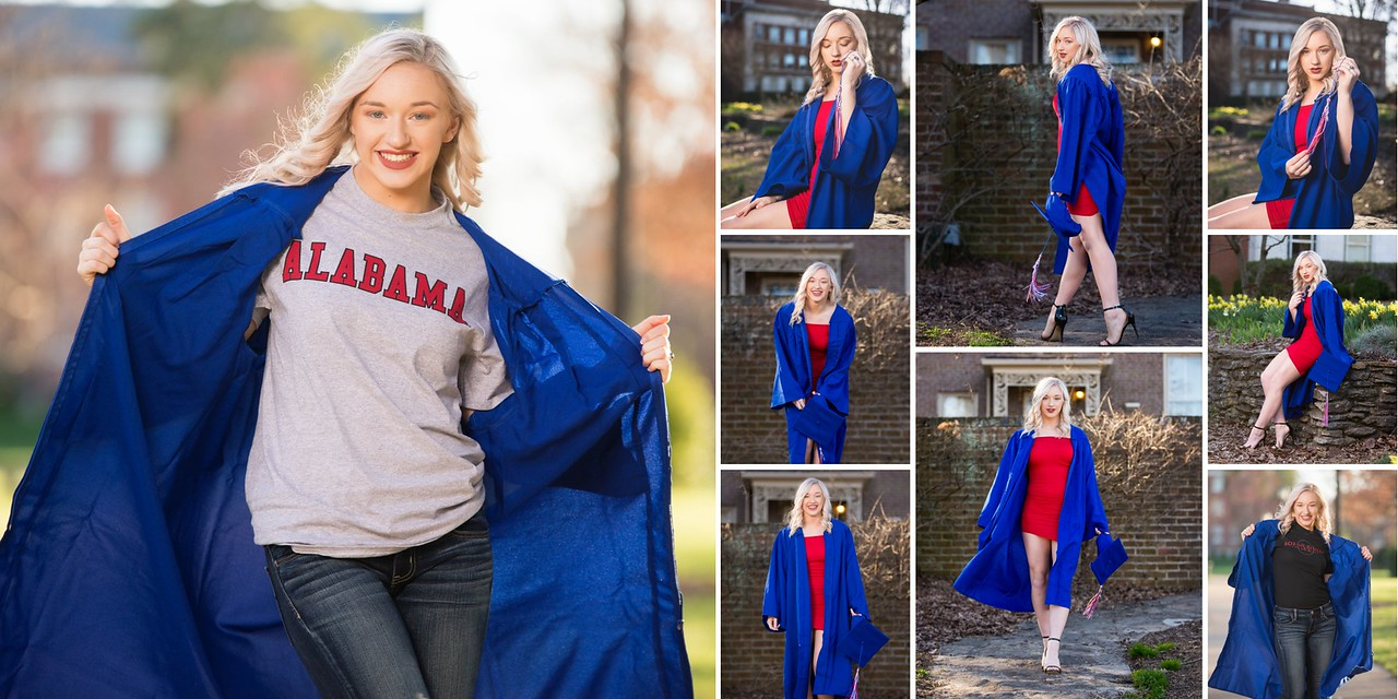 Katie Durham, MCHS Senior, Class of 2018 - Cap and Gown