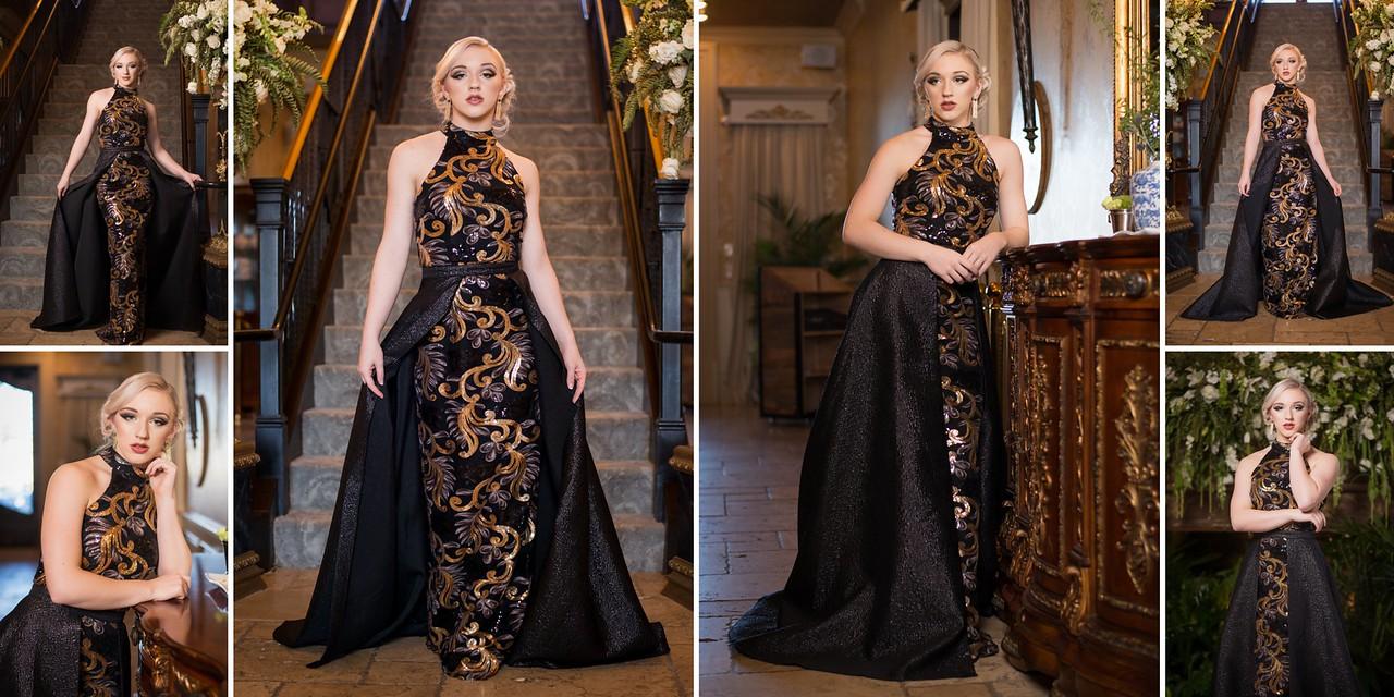 Katie Durham, MCHS Senior, Class of 2018 - Prom