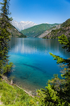 Sary-Chelek (also Sarychelek, Kyrgyz: Сарычелек) is a mountain lake located in Sary-Chelek Nature Reserve in Jalal-Abad Province in Western Kyrgyzstan. It is north of Arkit (the park headquarters) at the eastern end of the Chatkal Range. There are a number of smaller lakes in the area. The lake's name translates as 'a yellow bowl'.
