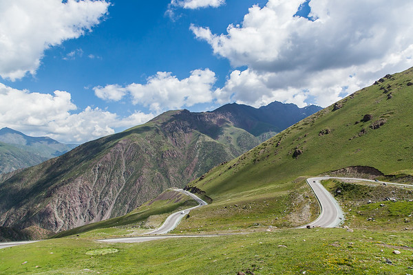 """Too - Ashuu (Kyrgyz: Төө-Ашуу) literally """"Camel Pass"""", is a mountain pass located on the road between the capital Bishkek and Osh, the main city in the south. Located approximately 135 kms from Bishkek, a road tunnel was built during the Soviet Union at the altitude of 3.130m to 3.180m above the sea level. It is the only road that connects the north and the south of the country."""