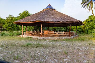 Large Gazebo Lekki Conservation Center Lekki Lagos Nigeria West Africa.