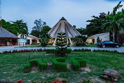 Reception area Lekki Conservation Center Lekki Lagos Nigeria.