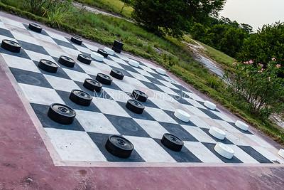 Floor Draught or Checkers board game Lekki Conservation Center Lekki, Lagos Nigeria
