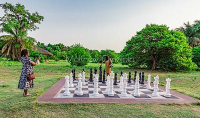 Floor Chess game Lekki Conservation Center Lekki Lagos Nigeria
