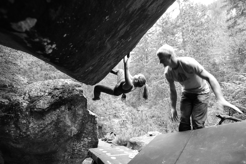 magic wood, bouldering, climbing