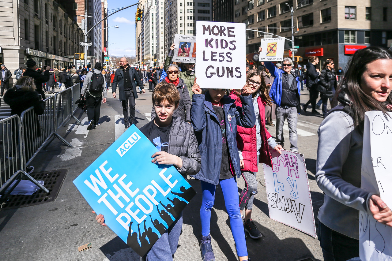This is what democracy looks like! #Enough #NeverAgain