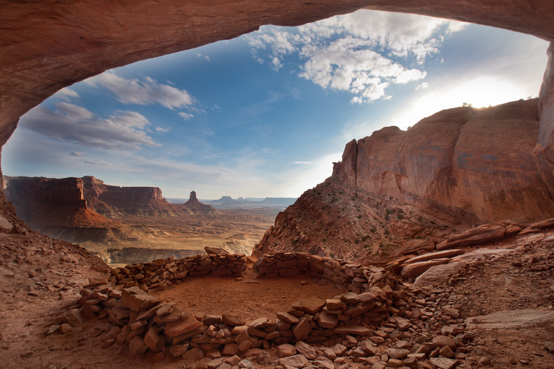 False Kiva <br /> Canyonlands National Park