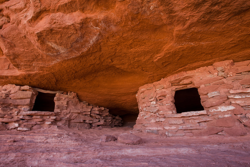 Aztec Granaries <br /> Canyonlands National Park