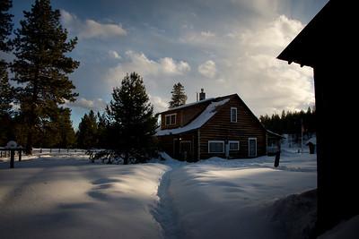 Monture Cabin