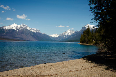 Lake McDonald in Early May