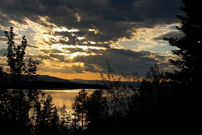 Flathead Lake Evening