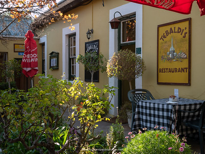 Tebaldi's Restaurant. McGregor. Western Cape. South Africa