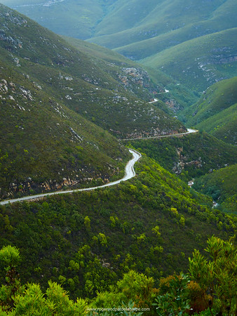 Montagu Pass over the Outeniqua Mountains. George. Garden Route. Western Cape. South Africa