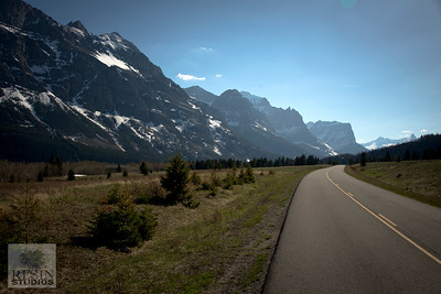 Road Into Glacier