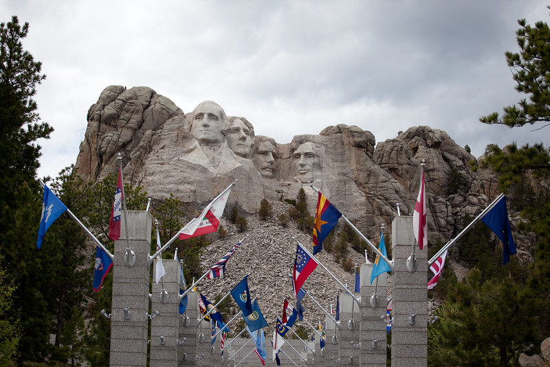 Mount Rushmore National Park, SD
