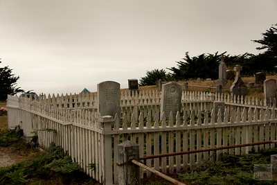 Ghost Town Cemetery in Northern California