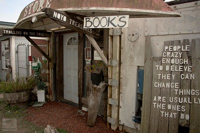 Bookstore in Fort Bragg, California